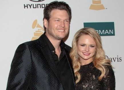 Cupid's Pulse Article: Miranda Lambert and Blake Shelton Sneak In Alone Time at Kid Rock's Bash