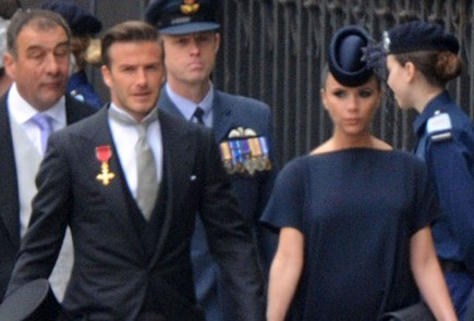 David and Victoria Beckham. Photo: FlynetUK/Flynetpictures.com