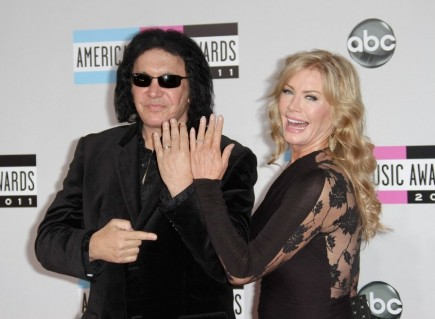 Gene Simmons and Shannon Tweed. Photo: Andrew Evans  / PR Photos