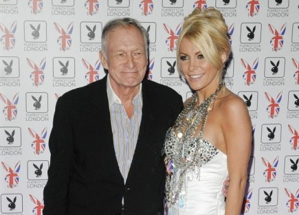 Hugh Hefner and Crystal Harris. Photo: Landmark / PR Photos
