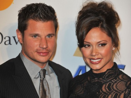 Nick Lachey and Vanesa Minnillo. Photo: Richard Shotwell / PR Photos