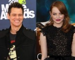 Jim Carrey Professes Adoration for Emma Stone in a Video