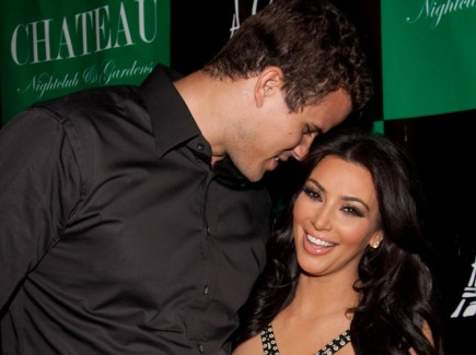 Kim Kardashian and Kris Humphries. Photo: Justin Paludipan / PR Photos