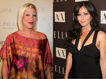 Cupid's Pulse Article: Tori Spelling Offers to Plan Shannen Doherty's Wedding