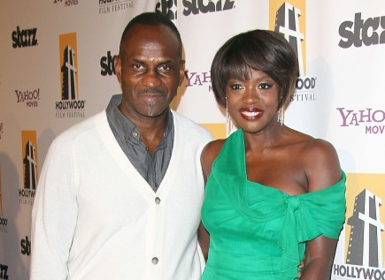 Julius Tennon and Viola Davis. Photo: Juan Rico/Fame Pictures
