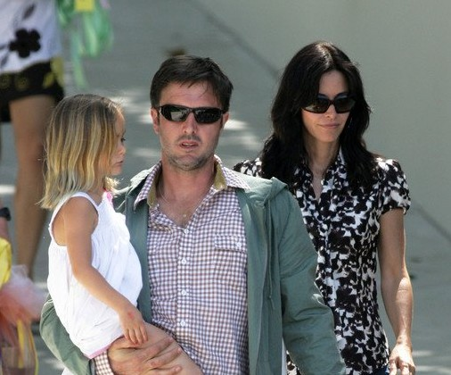 Cupid's Pulse Article: Courteney Cox and Daughter Coco Support David Arquette on 'DWTS'