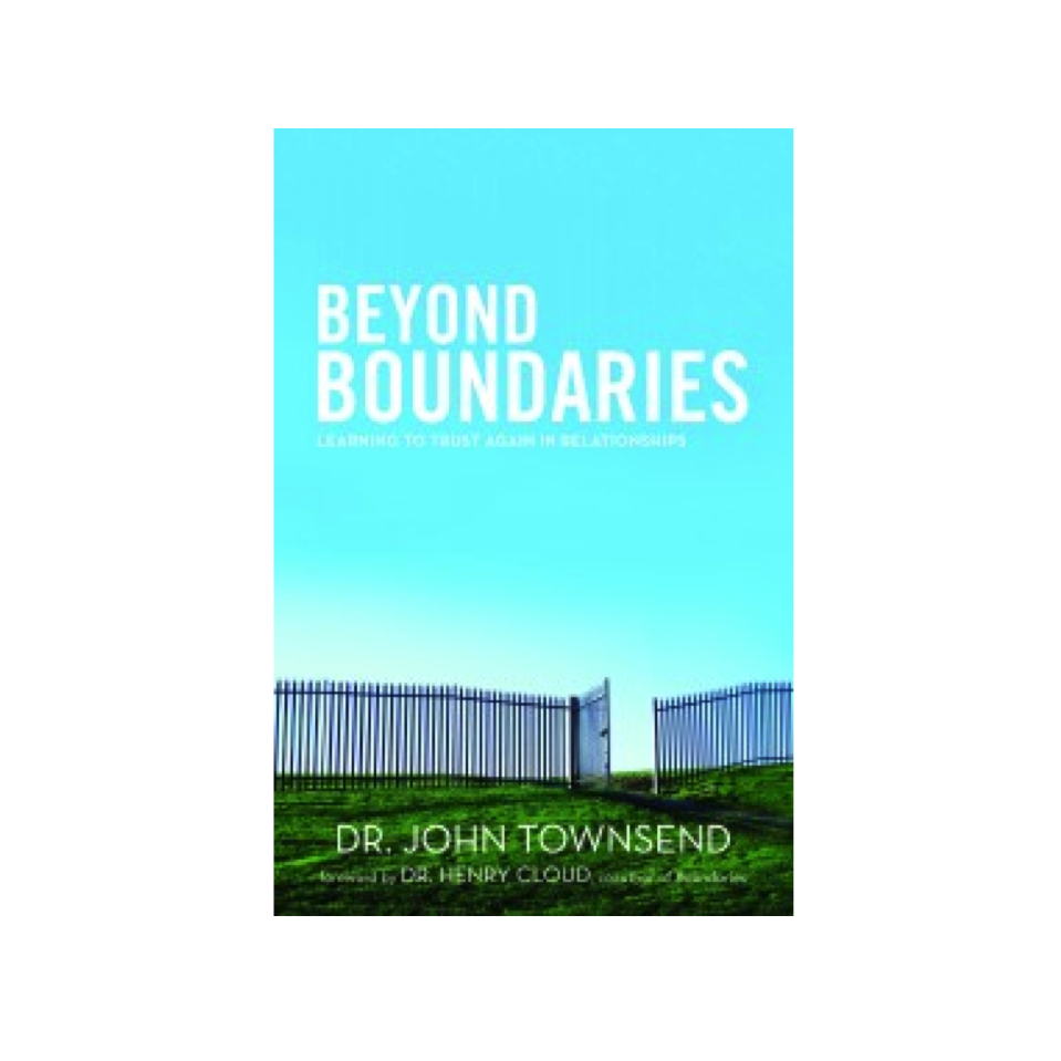 Cupid's Pulse Article: Dr. John Townsend Helps Deal with Painful Unions in his New Book, 'Beyond Boundaries: Learning to Trust Again in Relationships'