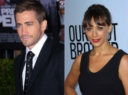 Jake Gyllenhaal and Rashida Jones. Photo: Albert L. Ortega / PR Photos; Andrew Evans / PR Photos