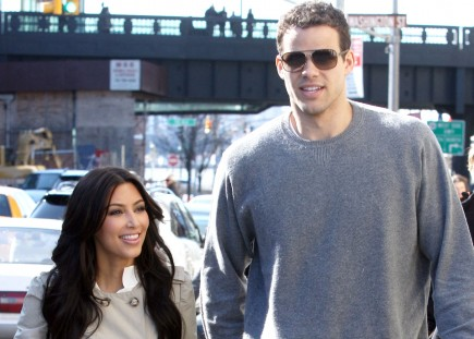 Kim Kardashian and Kris Humphries. Photo: Brian Flannery/FlynetPictures.com