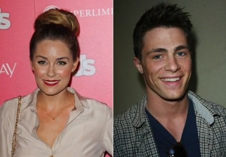 Lauren Conrad and Colton Haynes. Photo: Andrew Evans / PR Photos; Tommaso Boddi / PR Photos