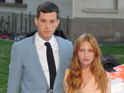 Mark Ronson and Josephine de La Baume. Photo: Landmark / PR Photos