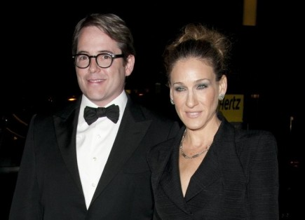Matthew Broderick and Sarah Jessica Parker. Photo: Janet Mayer / PR Photos