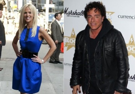 Michaele Salahi and Neal Schon. Photo: Janet Mayer / PR Photos; Landmark / PR Photos