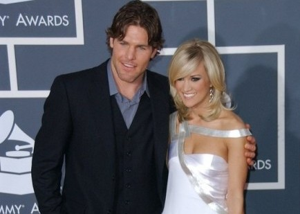 Mike Fisher and Carrie Underwood. Photo: Albert L. Ortega / PR Photos