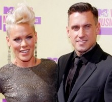 Pink and Carey Hart Take Their Daughter on Dinner Date
