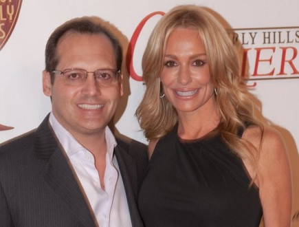 Russell and Taylor Armstrong. Photo: Allen Berezovsky / PR Photos