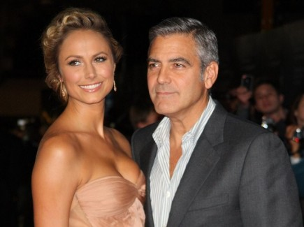 Cupid's Pulse Article: Stacy Keibler Gushes About George Clooney at 'Ides of March' Premiere