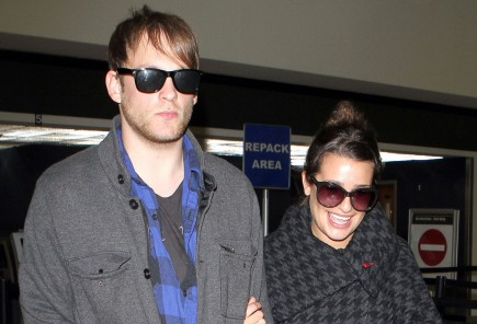 Cupid's Pulse Article: 'Glee' Star Lea Michele and Broadway Boyfriend Theo Stockman Split