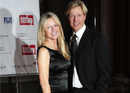 Heather Locklear and Jack Wagner.  Photo: Flynet UK/Flynetpictures.com