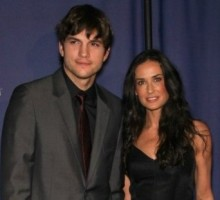 Ashton Kutcher and Demi Moore Are Spotted at Religious Services