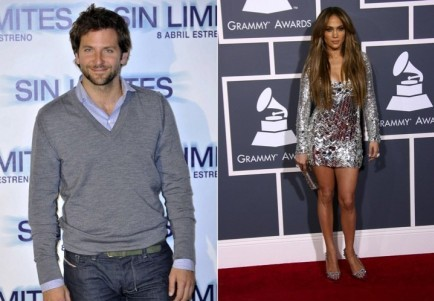 Bradley Cooper and Jennifer Lopez. Photo: Solarpix / PR Photos; Andrew Evans / PR Photos
