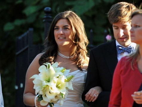 Cupid's Pulse Article: Cate Edwards Marries College Sweetheart