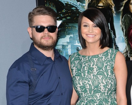 Jack Osbourne and Lisa Stelly. Photo: KM/FAMEFLYNET
