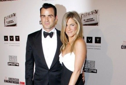 Justin Theroux and Jennifer Aniston. Photo: David Gabber / PRPhotos.com