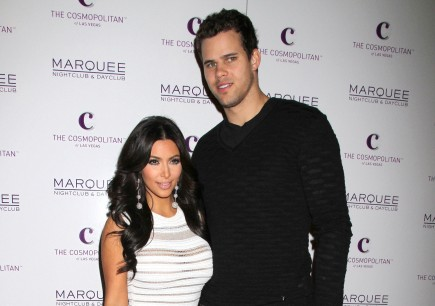 Kim Kardashian and Kris Humphries. Photo: Fame Pictures