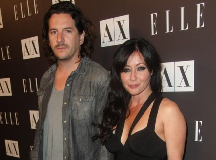 Kurt Iswarienko and Shannen Doherty. Photo: Tommaso Boddi / PR Photos
