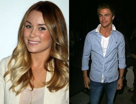 Lauren Conrad and Derek Hough. Photo: ER/Flynetpictures.com, Juan Rico/Fame Pictures
