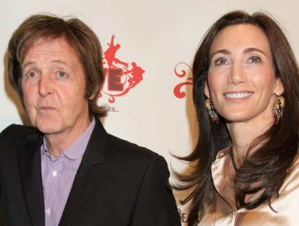 Paul McCartney and Nancy Shevell. Photo: PRN / PR Photos