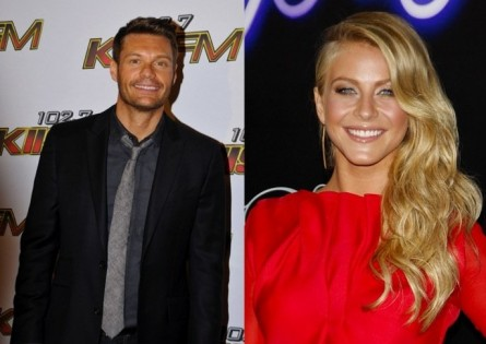Cupid's Pulse Article: Ryan Seacrest Dances with Julianne Hough at 'Footloose' Party