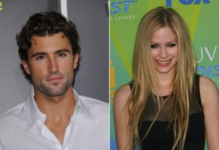 Brody Jenner and Avril Lavigne. Photo: Andrew Evans / PR Photos