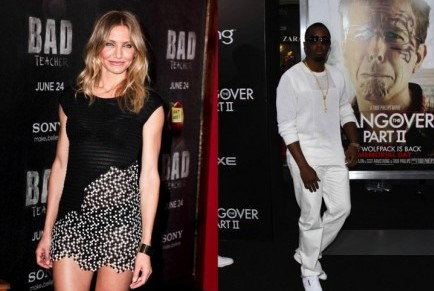 Cupid's Pulse Article: Are Cameron Diaz and Diddy Hooking Up?