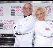 Food Network's Anne Burrell and Geoffrey Zakarian Talk Holiday Cooking and Love