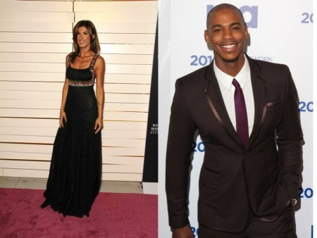 Elisabetta Canalis and Mehcad Brooks. Photo: Andrew Evans / PR Photos; Charles Norfleet / PR Photos