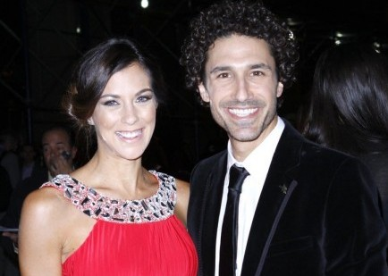 Jenna Morasca and Ethan Zohn. Photo: Donna Ward / PR Photos