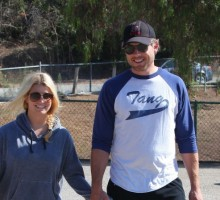 Jessica Simpson and Eric Johnson Ride A Bicycle Built For Two