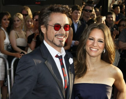 Robert Downey Jr. and Susan Levin. Photo: AR/Flynetpictures.com