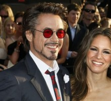Robert Downey Jr. Takes Pregnant Wife On Vacation