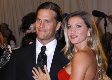 Tom Brady and Gisele Bundchen. Photo: M Van Niedek / PR Photos