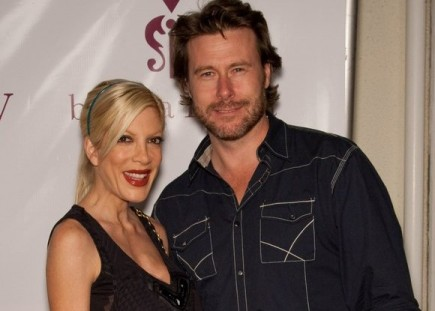 Tori Spelling and Dean McDermott. Photo: Chris Hatcher / PR Photos