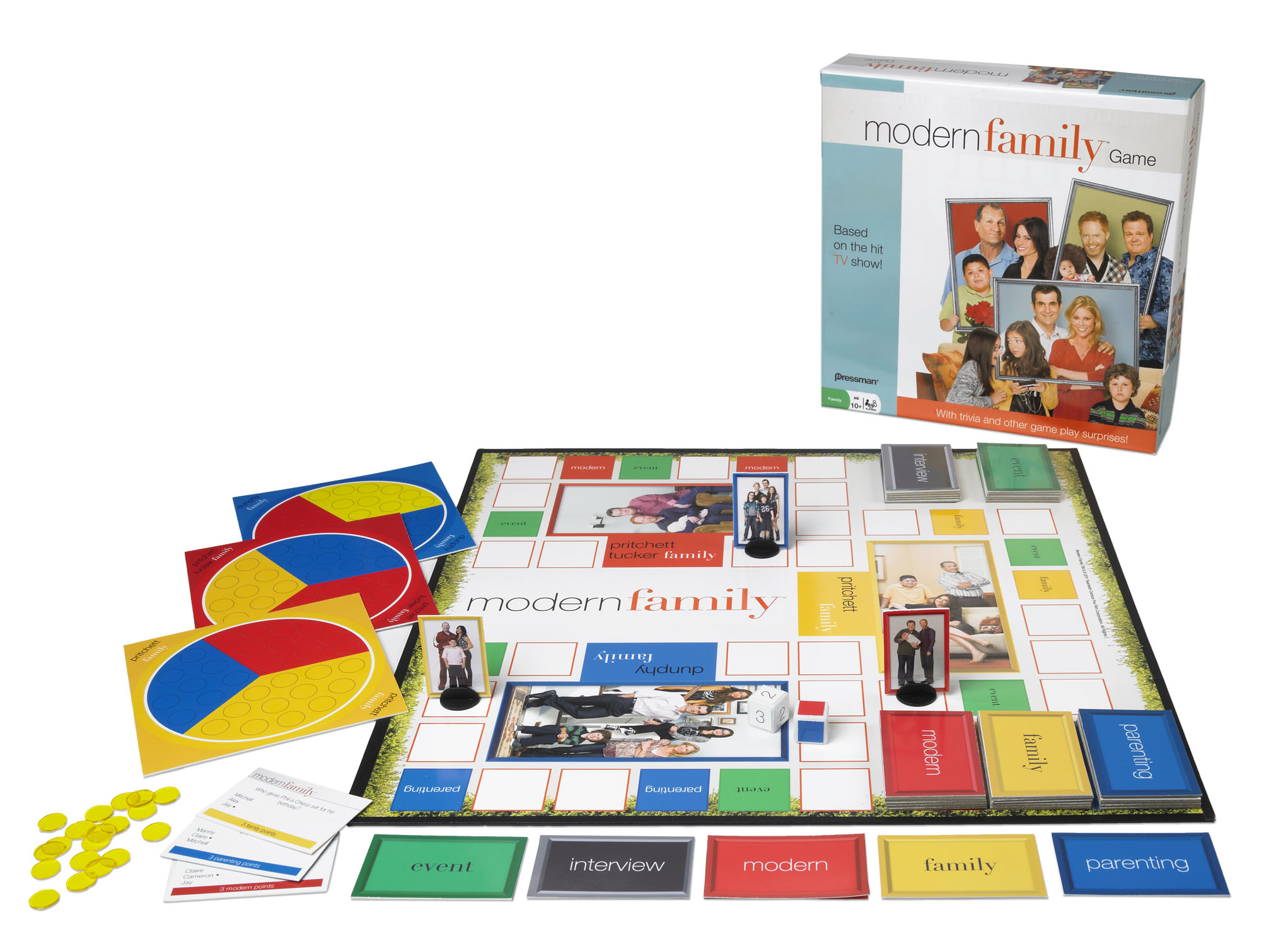 Cupid's Pulse Article: 'Modern Family' Board Game Tests Your Trivia Knowledge about the Hit Show