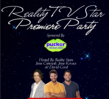 Tonight: Reality TV Star Premiere Party in Hollywood!