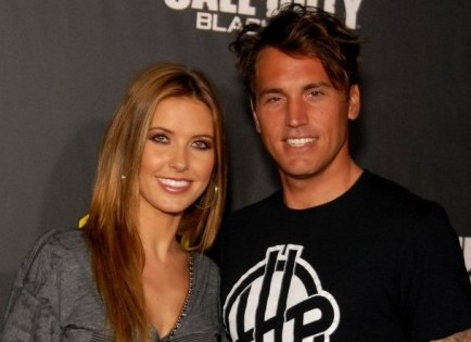 Audrina Patridge and Corey Bohan. Photo: Glenn Francis / PR Photos