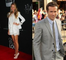 Blake Lively and Ryan Reynolds Partake in PDA at Pool Party