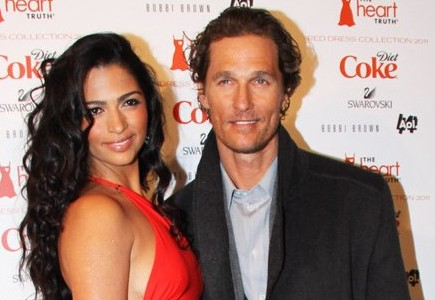 Camila Alves and Matthew McConaughey. Photo: Wild1 / PR Photos