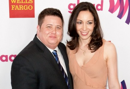 Chaz Bono and Jennifer Elia. Photo: Brandon  Parry / PR Photos