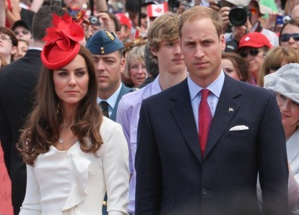 Kate Middleton and Prince William. Photo: Landmark / PR Photos